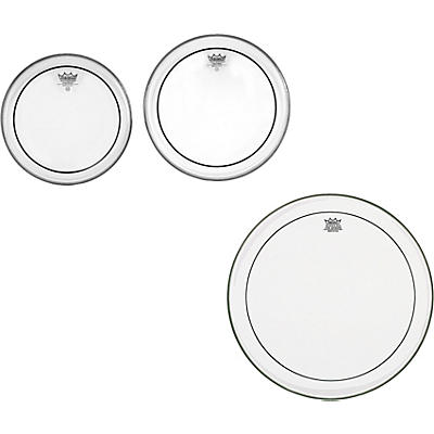 Remo Pinstripe Clear New Fusion Tom Drumhead Pack