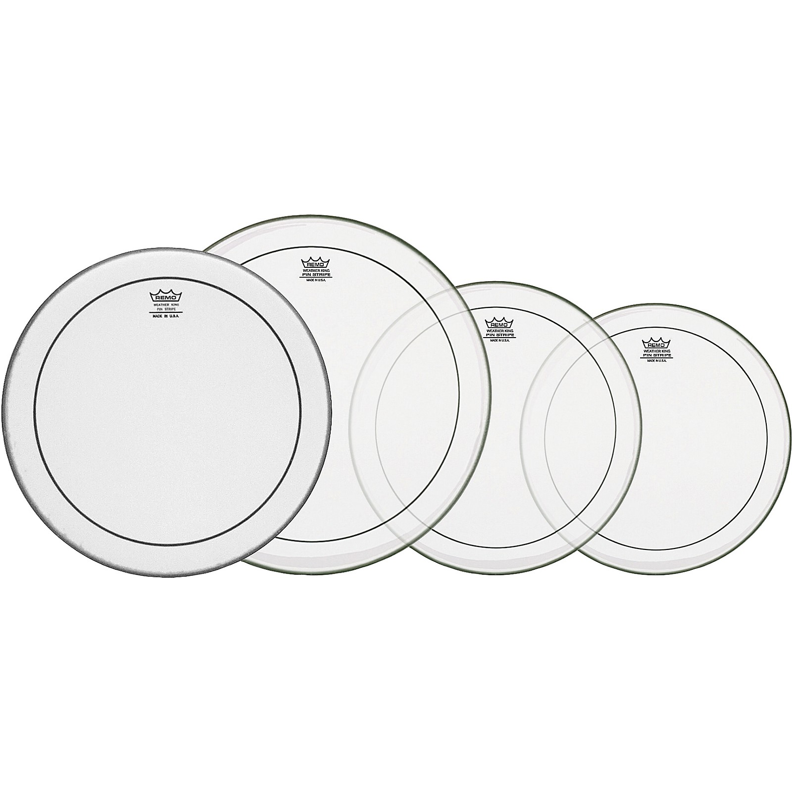 Remo Pinstripe Standard Drumhead Propack with 14