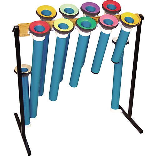 Joia Tubes Pipe Instrument Tube Sets Pentatonic Bass, 5 Note, G-E, Jtp5B