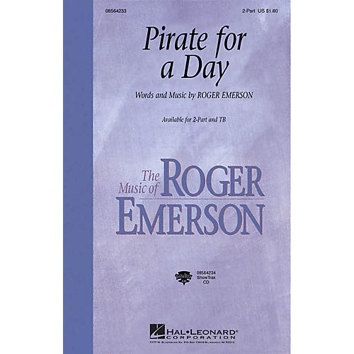 Hal Leonard Pirate for a Day ShowTrax CD Composed by Roger Emerson