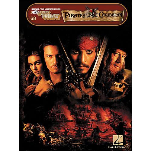 Hal Leonard Pirates Of The Caribbean E-Z Play 68