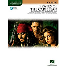 Hal Leonard Pirates Of The Caribbean for Flute Instrumental Play-Along Book/CD