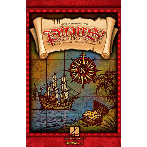 Hal Leonard Pirates! The Musical - Singer's Edition 5 Pak
