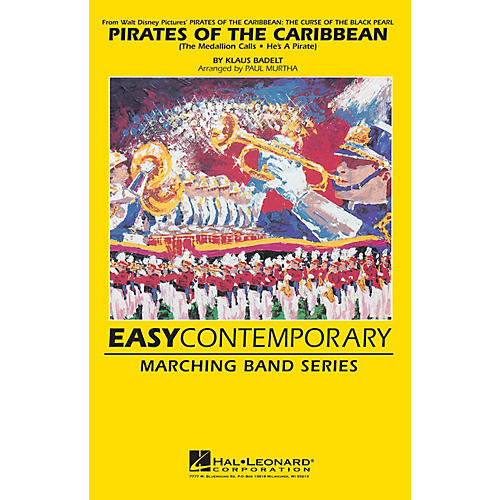 Hal Leonard Pirates of the Caribbean - The Curse of the Black Pearl Marching Band Level 2 Arranged by Paul Murtha
