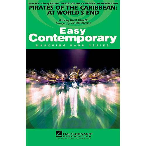 Hal Leonard Pirates of the Caribbean: At World's End Marching Band Level 2-3 Arranged by Michael Brown