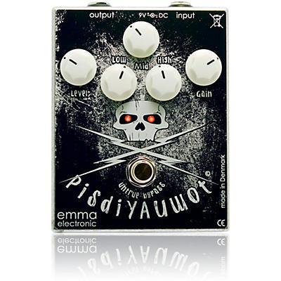 Emma Electronic PisdiYAUwot Metal Distortion Guitar Effects Pedal