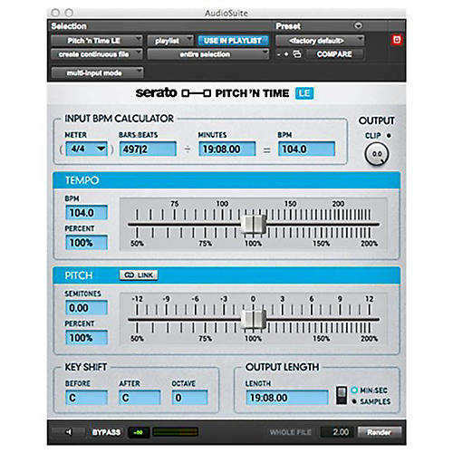 SERATO Pitch 'n Time LE 3.0 Software Download Software Download