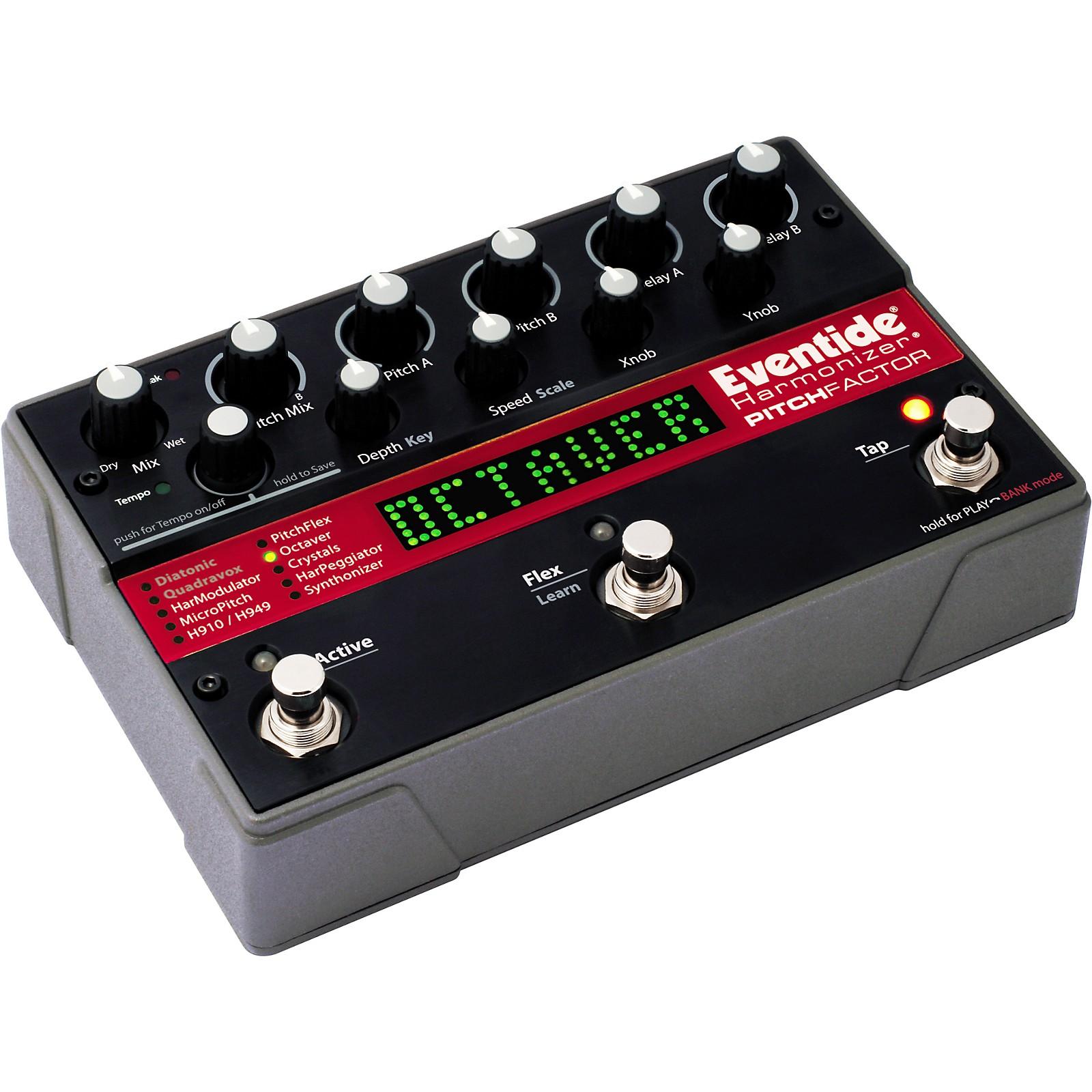 Eventide PitchFactor Harmonizer Guitar Effects Pedal