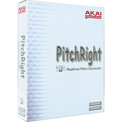 Akai Professional PitchRight Correction VST Plug-In
