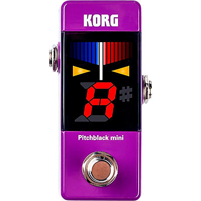 Korg Pitchblack Mini Pedal Tuner in Limited Edition