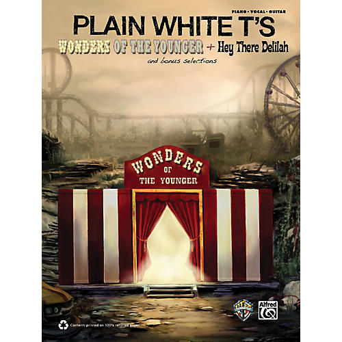 Alfred Plain White T's - Wonders of the Younger Piano/Vocal/Guitar Book