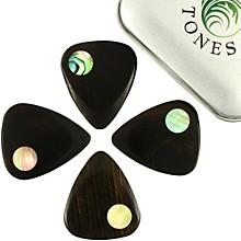 Timber Tones Planet Tones Mixed Tin of 4 Guitar Picks
