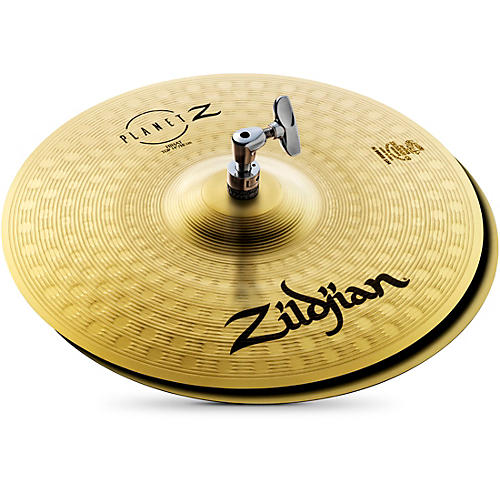 zildjian planet z hi hat cymbals 14 in pair musician 39 s friend. Black Bedroom Furniture Sets. Home Design Ideas