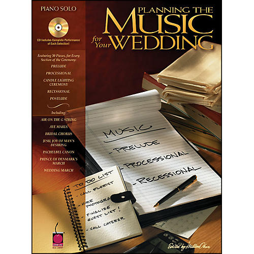Cherry Lane Planning The Music for Your Wedding arranged for piano solo