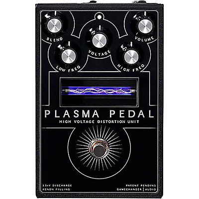 Gamechanger Audio Plasma Pedal High-Voltage Distortion Effects Pedal