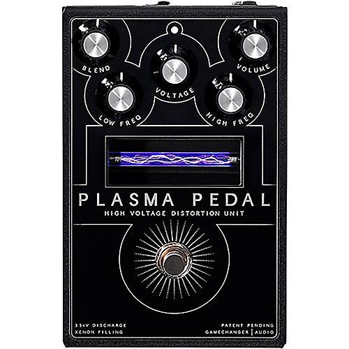 Gamechanger Audio Plasma Pedal High-Voltage Distortion Effects Pedal Black
