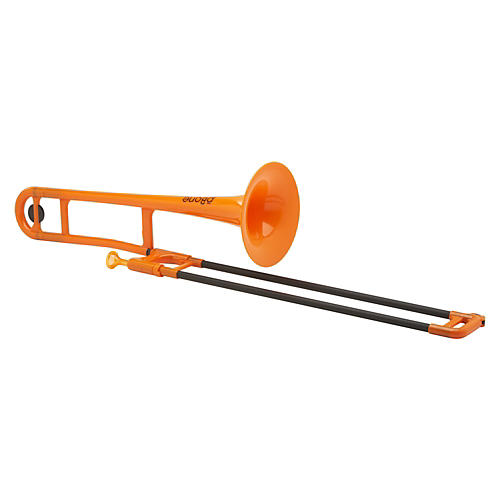 pBone Plastic Trombone Orange