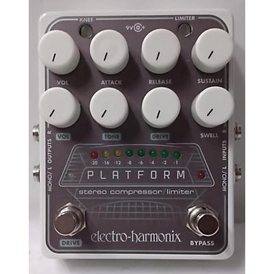 Electro-Harmonix Platform Stereo Compressor Limiter Effect Pedal