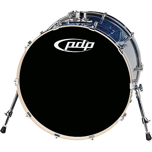 PDP by DW Platinum Finishply Bass Drum with Tom Mount