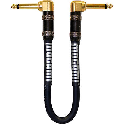Mogami Platinum Guitar Patch Cable with Right Angle Connectors