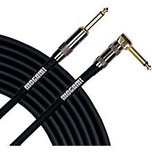 Open BoxMogami Platinum Instrument Cable with Right Angle to Straight End Connectors