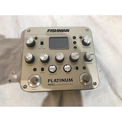 Fishman Platinum Pro Eq Acoustic Guitar Pickup