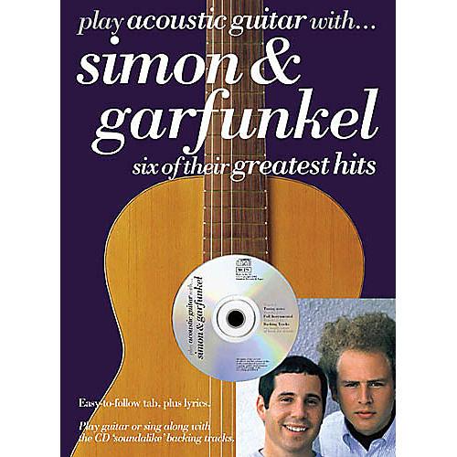 Music Sales Play Acoustic Guitar with...Simon and Garfunkel Music Sales America BK/ CD by Simon And Garfunkel