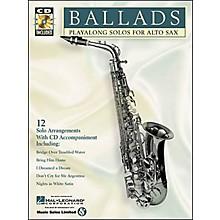 Hal Leonard Play-Along Ballads Book with CD Trombone