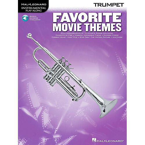 Play-Along Favorite Movie Themes Book with CD French Horn