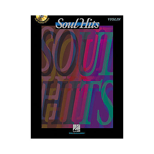 Hal Leonard Play-Along Soul Hits Book with CD Trombone