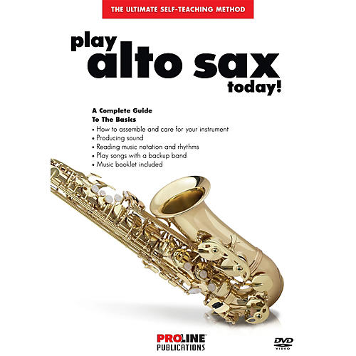 Proline Play Alto Sax Today DVD