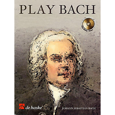 De Haske Music Play Bach (8 Famous Works) De Haske Play-Along Book Series BK/CD