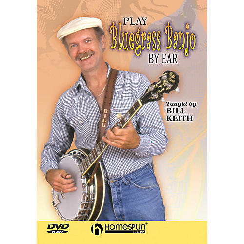 Homespun Play Bluegrass Banjo by Ear (Homespun Level 2) DVD/Instructional/Folk Instrmt Series DVD by Bill Keith