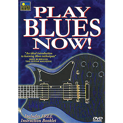 Music Sales Play Blues Now! Music Sales America Series DVD Written by Mel Reeves