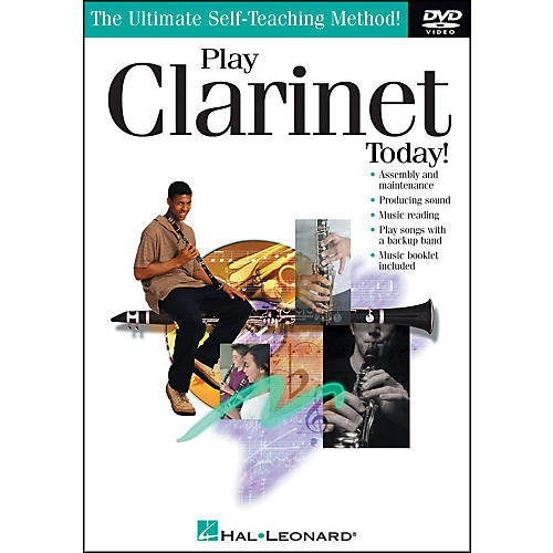 Hal Leonard Play Clarinet Today! DVD