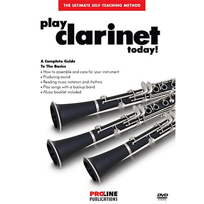 Proline Play Clarinet Today DVD