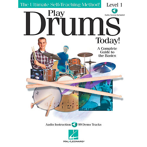 Hal Leonard Play Drums Today! - Level 1 Book/CD