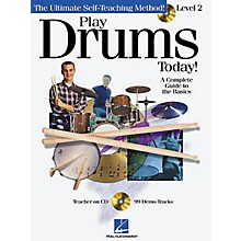 Hal Leonard Play Drums Today! - Level 2 (Book/CD)
