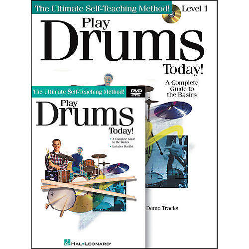 Hal Leonard Play Drums Today Beginner's Pack with Book/CD/DVD