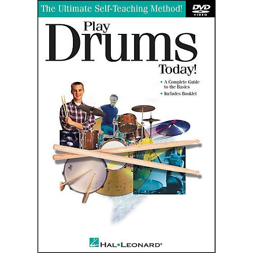 Hal Leonard Play Drums Today! DVD