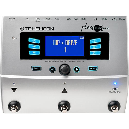 tc helicon play electric voice processor for electric guitarists musician 39 s friend. Black Bedroom Furniture Sets. Home Design Ideas