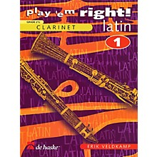 De Haske Music Play 'Em Right Latin - Vol. 1 (Vol. 1 - Clarinet) De Haske Play-Along Book Series