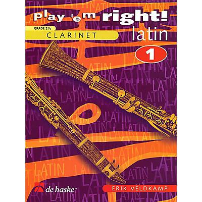 De Haske Music Play 'Em Right Latin - Vol. 1 (Vol. 1 - Clarinet) De Haske Play-Along Book Series