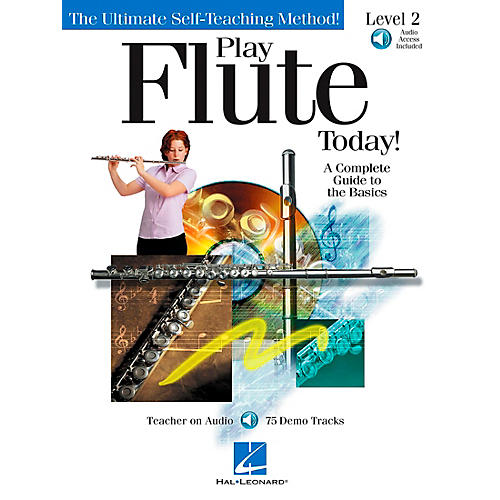 Hal Leonard Play Flute Today! Level 2 CD/Pkg