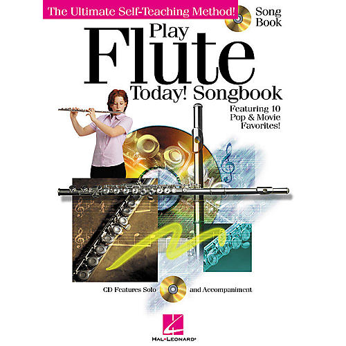 Hal Leonard Play Flute Today! (Songbook) Play Today Instructional Series Series Softcover with CD by Various Authors