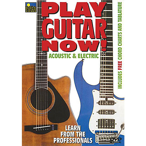 Music Sales Play Guitar Now! - Acoustic & Electric Music Sales America Series DVD Written by Mel Reeves
