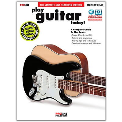 Proline Play Guitar Today! Beginner's Pack Book/Online Audio & Video