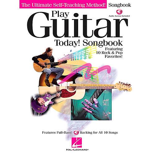 Hal Leonard Play Guitar Today! Companion Guitar Tab Songbook