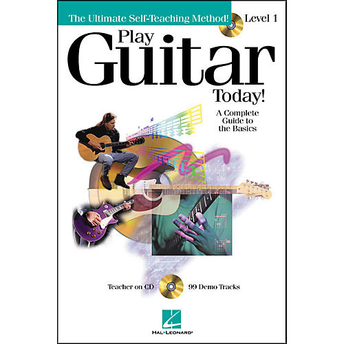Hal Leonard Play Guitar Today! Level 1 Book/CD