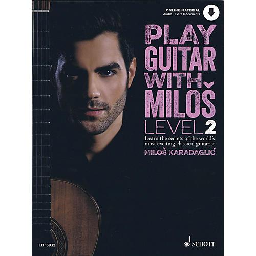 Schott Play Guitar with Milos Level 2 Book/Audio Online